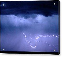 Lightning Rodeo Acrylic Print