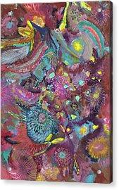 Lightning - #ss18dw020 Acrylic Print by Satomi Sugimoto