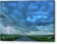 Lightning Strike Acrylic Print