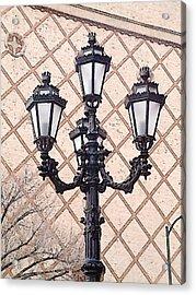 Lightpost Acrylic Print by Carl Perry