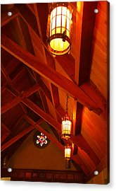Lights And Beams Acrylic Print by Steven Ainsworth