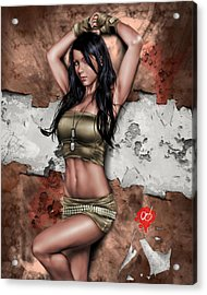 Lights Out 3 Acrylic Print by Pete Tapang