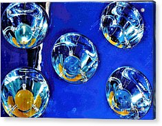 Lights Under Glas Acrylic Print