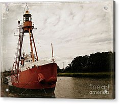 Lightship Nantucket Wlv-613 At Wareham Acrylic Print