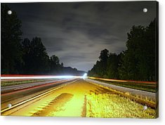 Acrylic Print featuring the photograph Lightworks by Alex Grichenko