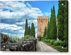 Like A Fortress In The Sky Acrylic Print