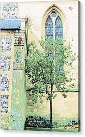 Like A Prayer Acrylic Print by Ann Johndro-Collins