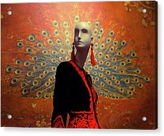 Acrylic Print featuring the photograph Like An Angel by Lora Lee Chapman