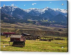 Like An Old Western Movie Acrylic Print by James BO Insogna