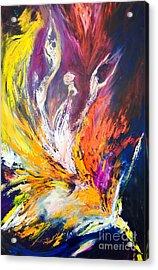 Like Fire In The Wind Acrylic Print