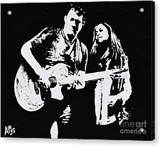 Like Johnny And June Acrylic Print