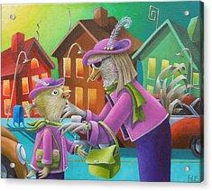 Like Mother Like Daughter Acrylic Print by Eva Folks