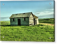 Like The Book Little House On The Prairie Acrylic Print by Jeff Swan