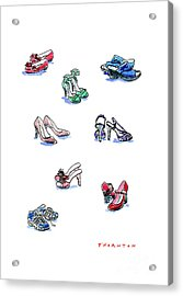 L'il Shoes Acrylic Print