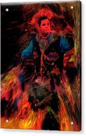 Lila Wakan Dancin For A Better World Acrylic Print