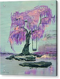 Lilac Dreams- Prince Acrylic Print
