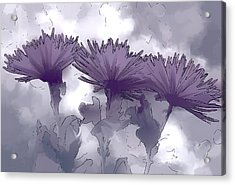 Lilac Fancy Acrylic Print