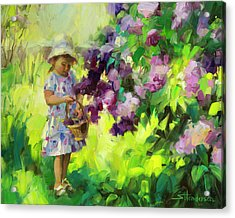 Lilac Festival Acrylic Print