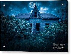 Lilac House Acrylic Print