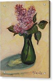 Lilac Reflections Acrylic Print