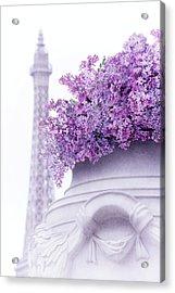 Lilac Tales Acrylic Print