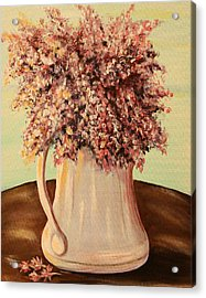 Lilacs For Mom Acrylic Print by Dyanne Parker