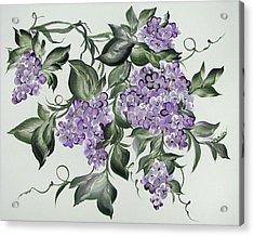 Lilac's Splendor Acrylic Print by Patty Muchka
