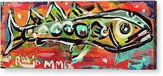 Lil'funky Folk Fish Number Nineteen Acrylic Print