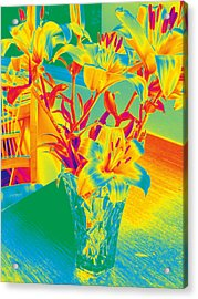 Lilies #3 Acrylic Print