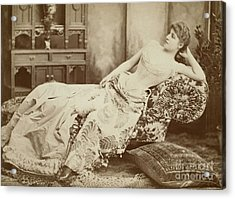 Lillie Langtry (1852-1929) Acrylic Print by Granger
