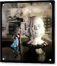 Lilliput In Wasteland Acrylic Print by Maxim Tzinman