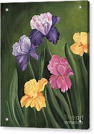 Lill's Garden Acrylic Print
