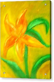 Lilly Acrylic Print by BJ Abrams