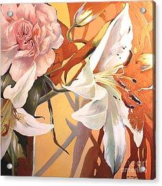 Lilly Melange Acrylic Print
