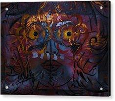 Lillys Glow Box   Acrylic Print by Dorian Williams
