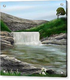 Lily Creek Acrylic Print