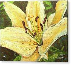Lily Dream Acrylic Print