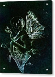 Acrylic Print featuring the painting Lily Fay by Ragen Mendenhall