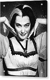 Lily Munster Acrylic Print