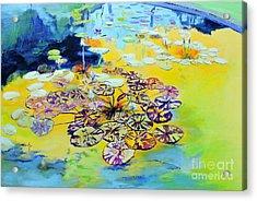 Lily Pad Dreams Acrylic Print