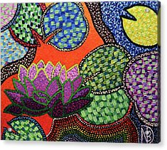 Lily Pad Pizzaz Acrylic Print