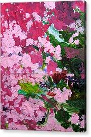 Lily Pads Acrylic Print by Kim Putney