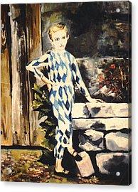 Lily Pierrot Acrylic Print by John Keaton