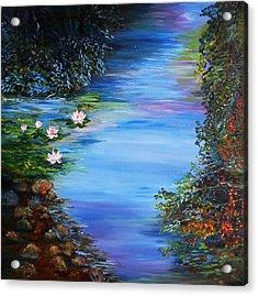 Lily Pond Acrylic Print