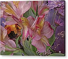 Lily Profusion 7 Acrylic Print