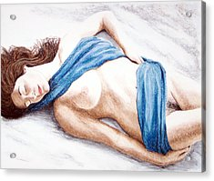 Lily-when Angels Sleep Acrylic Print