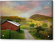 One Fine Day Acrylic Print by Diana Angstadt