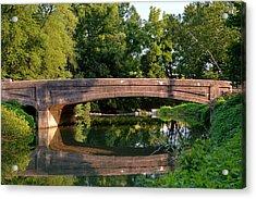 Lime Valley Bridge Acrylic Print