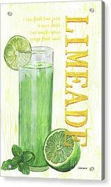 Limeade Acrylic Print by Debbie DeWitt