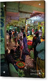 Acrylic Print featuring the photograph Limes For Sale by Mike Reid